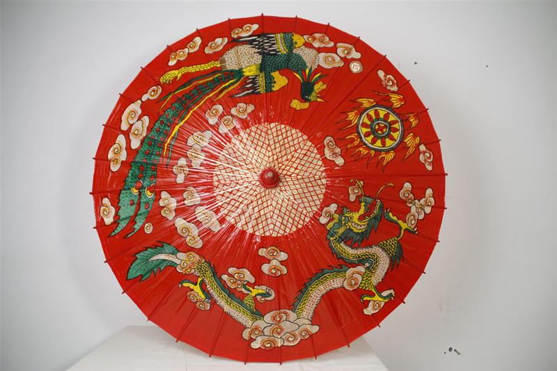 传统工艺泸州油纸伞的遮阳后保养