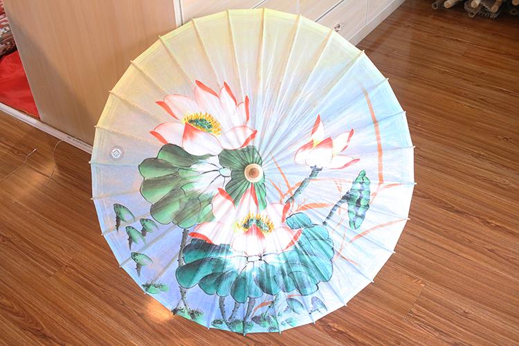 古代油纸伞一般有多少根伞骨