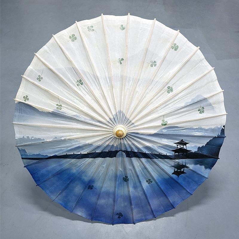 植物标本油纸伞