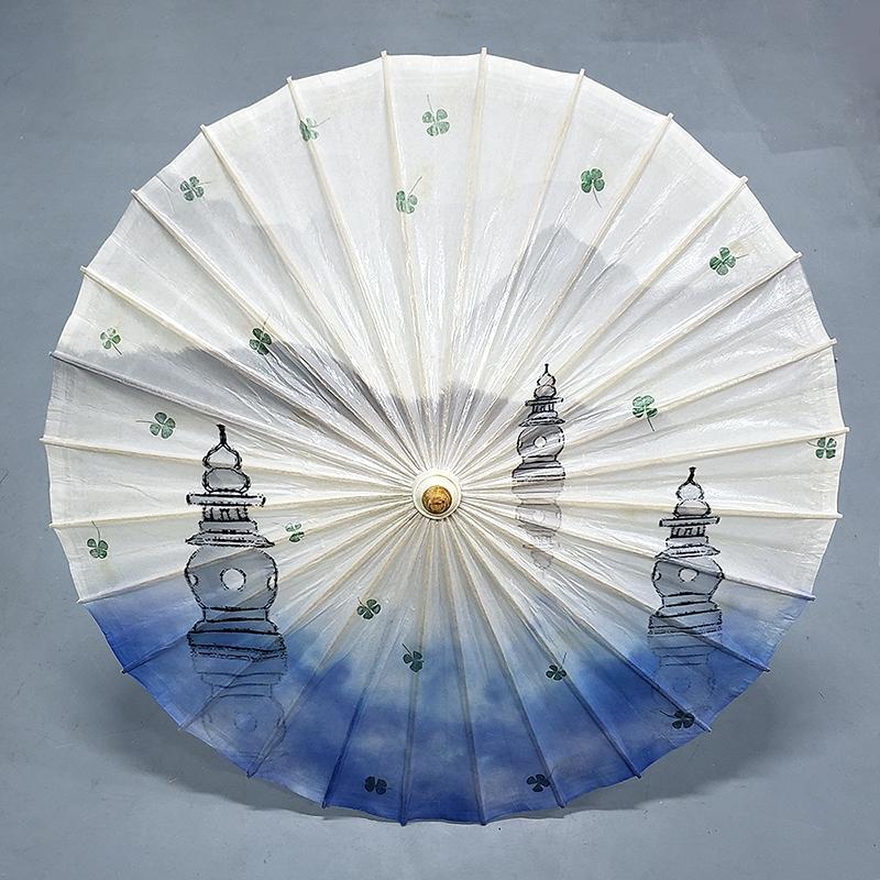 浙江植物标本油纸伞